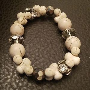 Stone stretchy bracelet